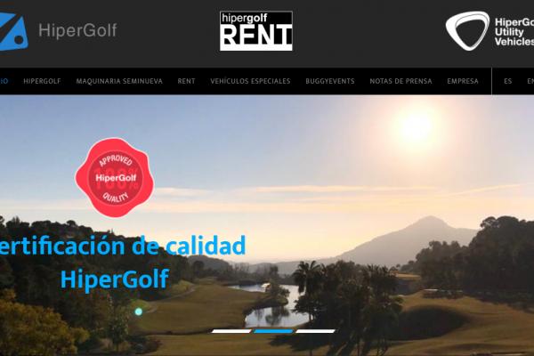 Nueva web de Hipergolf